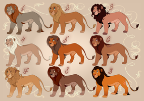Mystery Lion Adopts - REVEALED by ShimiArt