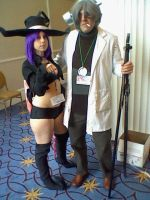 Katsucon 18: Stein and Blair by SpikeJet2736