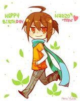 Happy birthday, Nadzo by Yufei