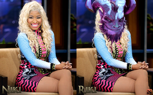 Nicki Minaj Plays Dota 2 by MovieMowDown