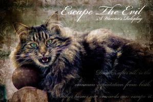 Escape The Evil Banner 3 by Tracie-is-a-wolf