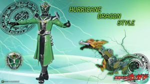 KR Wizard Hurricane Dragon Style by blakehunter