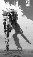 AFUHNK Combat Mech. by duster132