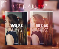 Walrm Summer {PSD} by Julieta7599