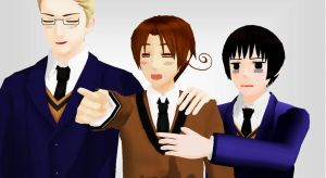 [Link] Amg the Hetalia MMD MV for Ai Dee is here!! by MikaAlaMode