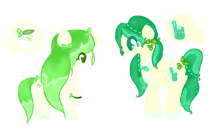 CLOSED Adoptables - Camellia Sisters by Laurel3aby