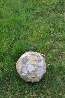 old football by rainbows-stock