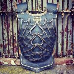 Blued Paint Finish Renaissance Armour by yeogybear