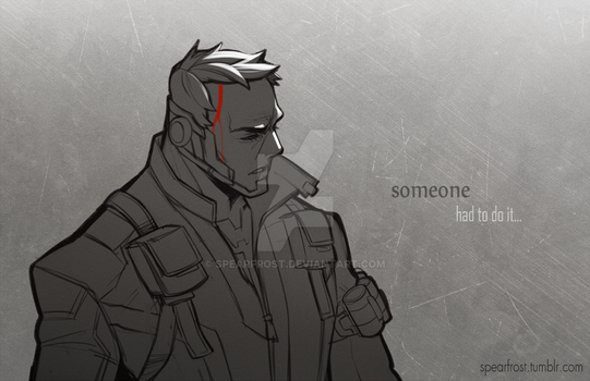 Soldier 76 by Spearfrost