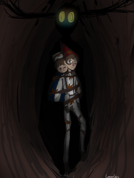 Over the garden wall redraw by Ladibujantefeliz