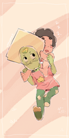 PERIDOT AND BABY STEVEN by Stick2mate