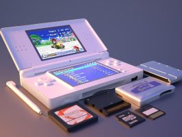 Nintendo DS lite by krz9000
