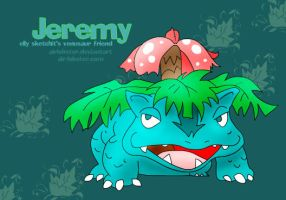 Jeremy the Venusaur by airlobster