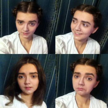 Arya/Maisie Costest by noaxaon