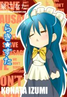 Lucky star_Kona-chan by maguro-chan