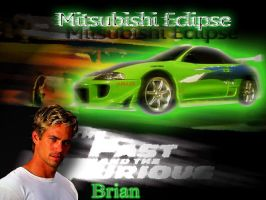 fast and the furious brian by saintfighterfire