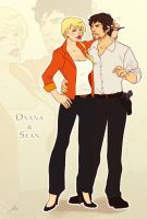 Commission: Oxana and Sean by Lelia