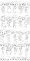 APH - Bookmarks WIP by Momiji95