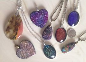 Crafted Pendants Variety by Mystikka