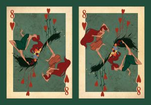 Eight of Hearts by KateKaz