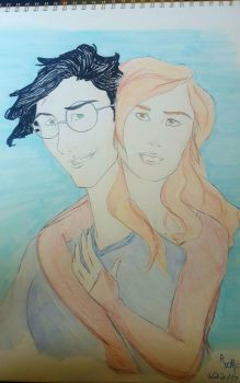 Harry and Ginny by R-I-M-F-009