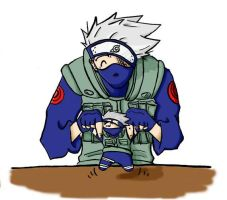Kakashi and Doll - twitch-19c by anothernarutoclub