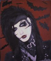 Andy Biersack: Singer of Black Veil Brides by GothicLionheart