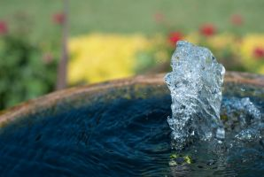 Garden Water Fountain Pot by Wallcrawler62