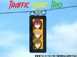 Traffic Light Trio: Free! Photo Edit by ThatNekohacker