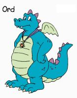 Ord from dragon tales by Kangythekangaroo