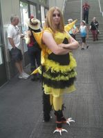 SacAnime Cosplay: Zapdos by wolfforce58