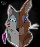 Past and Present by DarkWolfDragon