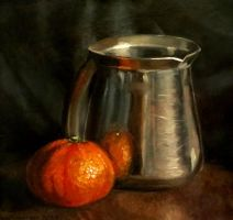 Orange and Jug by kafine