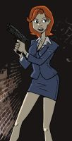 Scully by everydaycomics