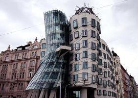 Dancing Building- Prague by StevenWard