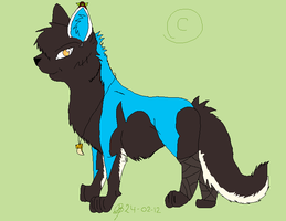 FaolanFoxx commision by Rebelwolf13570