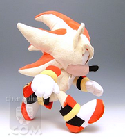 Sonic Super Shadow Plush Run by kaijumama