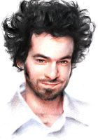 Romain Duris by Beulette