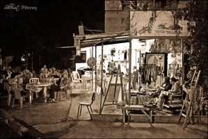 Night in the old city 3 by ShlomitMessica