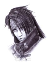 FF7 - VINCENT Valentine - Pen2 by Washu-M