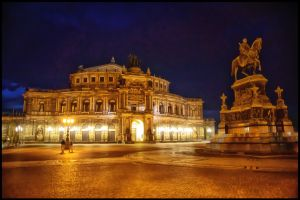 Dresden - Semperoper II by calimer00