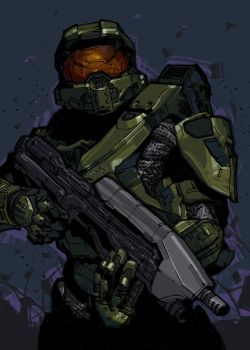 Master Chief by N-Abakumov