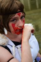 San from Princess Mononoke by AbelTheKeeper