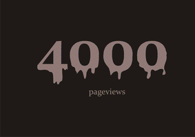 4000 pageviews II by Lazlo-Moholy