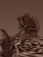 Chocolate rose by PLACID85