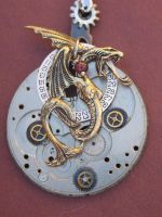 lusty gothic Steampunk Jewelry by clockwork-zero