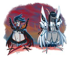 Pigeon Kill La Kill by Adlynh