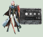 Lightning Returns: Final Fantasy XIII WinAmp Skin by seraphimax