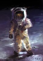 Spaceman Speed Painting by Art--Tool
