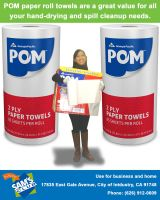 Me in Sam's Club Rule of Thirds Ad Pom Poster by Magic-Kristina-KW
